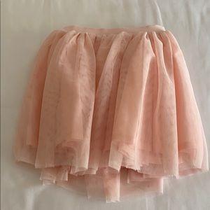 Pink sparkle tutu skirt